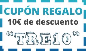 Cupon regalo de 10 euros en Trendingross